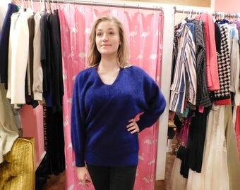 1980 Angora sweater Size M