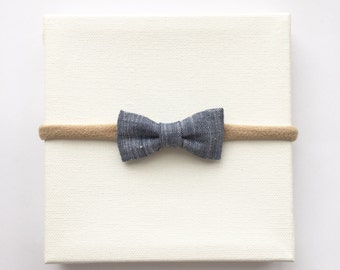 Modern Mini Linen - Denim