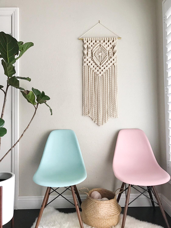 macrame patterns macrame pattern macrame wall hanging. Black Bedroom Furniture Sets. Home Design Ideas
