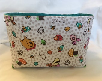 Winnie the Pooh Tricycle or Bicycle Basket, Fabric