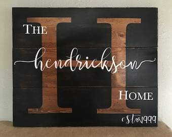 Initial Sign Home established