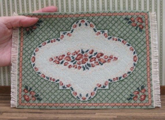 Miniature Carpet Kit 1 12 Dollhouse Needlepoint Rug Kit Fine