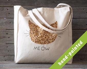 cat purse, cat totes, cat lover gift, canvas/ cat tote bag, cat gifts, cats, cat, tote bag, cat lover gift, cat, tote, cat art, totes