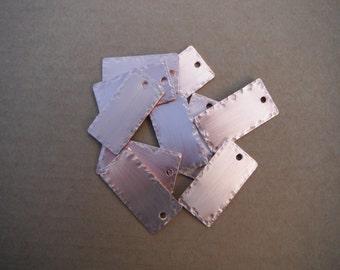 Solid Copper Key Fobs (10 pcs.)