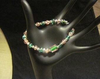 Candy Cane Sparkle Bracelet