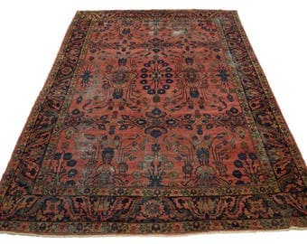 Antique Persian Rug Room-sized Mahal