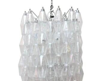 Murano Glass Poliedro chandelier