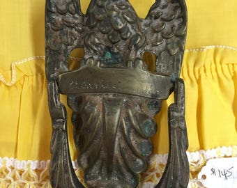 Vintage Eagle Door Knocker