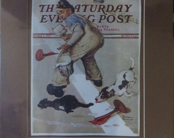 Saturday Evening Post Rockwell original cover