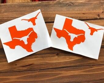 UT University of Texas Longhorns Vinyl Decal