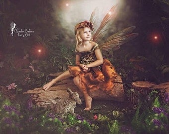 Autumn Fairy Petal Dress