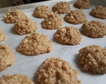White Chocolate peanut butter No Bake cookies 1 Dozen Gourmet