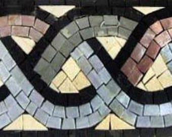 Mosaic Border Rope Design
