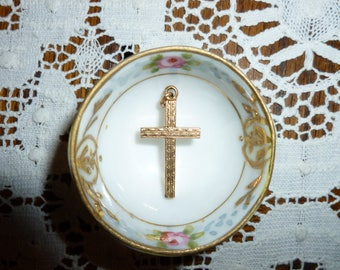 Sweet Vintage Gold Filled Cross 1950's-1960's
