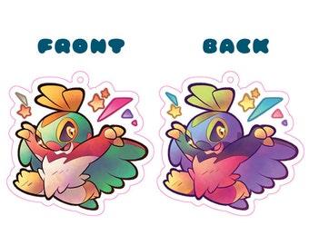 Pokemon Hawlucha Acrylic Charm