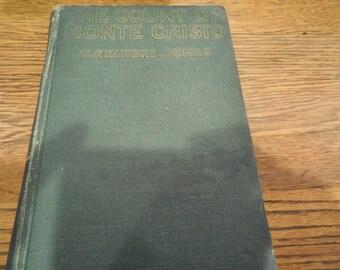 EXRARE Circa 1934 The Count Of Monte Cristo by Alexander Dumas Edmund Dantes Revenge Clean Book Photo Play Edition