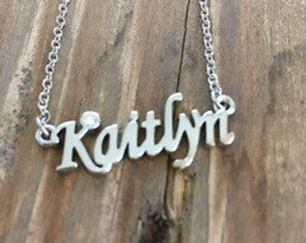 Kaitlyn Necklace in Silver