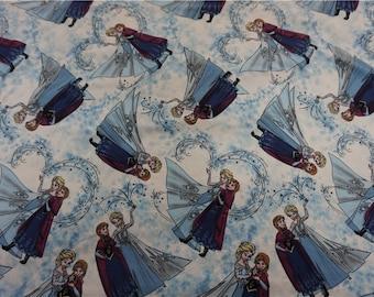 100*140cm Disney Frozen Elsa Anna Cotton Knit Fabric