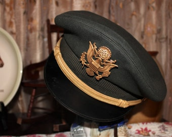 Vintage US Military Army Officer's Hat