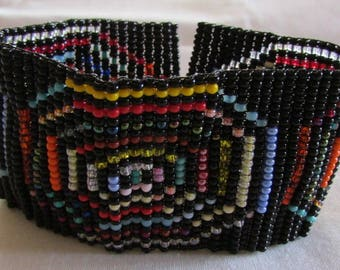 Handmade Beaded Bracelet with Magnetic Clasp