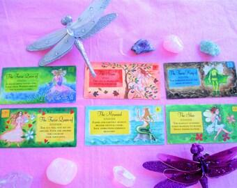 Fairy Tarot Card Reading, Intuitive Tarot Card Reading With The Fairies, Tarot Card Deck Gillian Dempsey