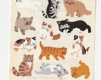 Vintage Sandylion Kitten Cat Stickers