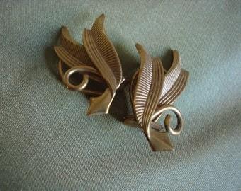 Art Deco earrings.