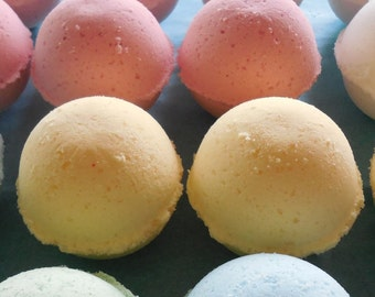 20 Pack Bath Bombs - Lot - Bath Fizzy - Organic Cocoa Butter - Choose Scent - 1.5 oz