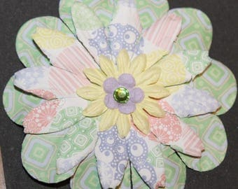 Assorted Handmade paper Flower embellishments