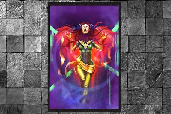 X Men Jean Grey The Phoenix Poster Digital Photo Print Wall