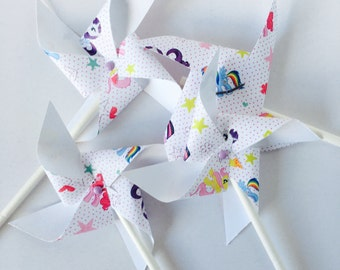My Little Pony Pinwheel Cupcake Toppers