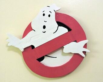 Handmade Ghostbusters Logo