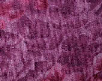 Quilt Fabric Quilting Fabric Cotton Calico Purple Batik Floral by David Textiles: Fat Quarter or Cut-to-Order