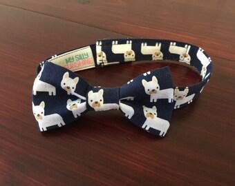Boys Bow Tie, French Bulldog