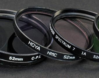 Filter Set 52mm Pick Any Five Filters MiNTY !