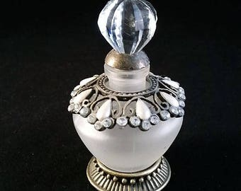 Vintage Studio Silversmiths Fragrance, Perfume Bottle