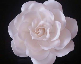 Sugar Rose XLarge, Gumpaste Rose XLarge, Sugar Flower, Gumpaste Flower