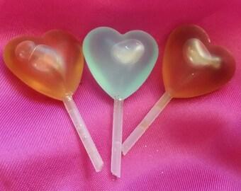 10 DOZEN (120) HEART shaped PIPETTES