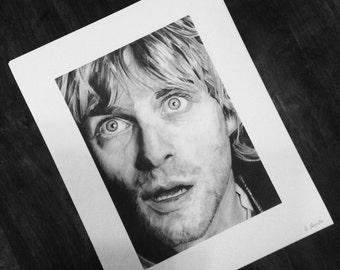Kurt Cobain Limited Edition Art Print