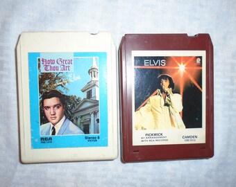 Elvis Presley 8 Track Tapes.  8 Track Tapes .  Elvis Presley . Elvis .