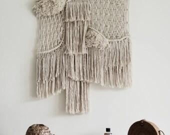 Contemporany Macrame wallhanging / wall art / ranran Design / wallart