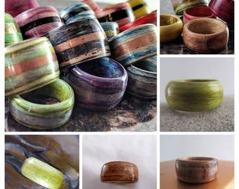 Wooden Ring - No Inlay