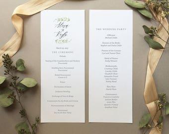 DIGITAL FILE- The Alexa Wedding Program