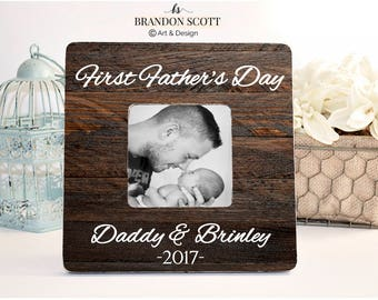 Father's Day Frame, First Father's Day Frame, First Fathers day Gift, New Dad Gift, 1st Father's Day Gift, Gift New Dad, Gift for husband