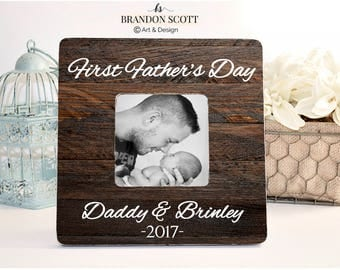 Father's Day Frame, First Father's Day Frame, First Fathers day Gift, New Dad Gift, 1st Father's Day Gift, Gift New Dad, Gift for husband