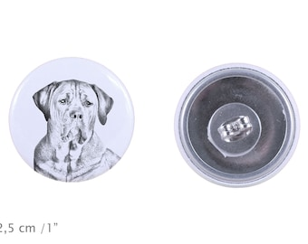Earrings with a dog - Tosa