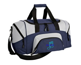 Music Gym Bag - Personalized - Monogrammed - Embroidered - Sports Bag - Sports Gift - Band Duffle Bag - BG99