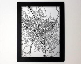 Escondido Map / Laser Cut Map / Escondido California / Escondido Art / Escondido California / Framed Map / Wedding Gift / Anniversary Gift