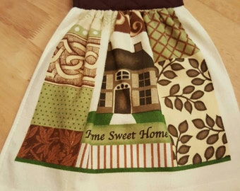 Home Sweet Home Hanging Kitchen Towel