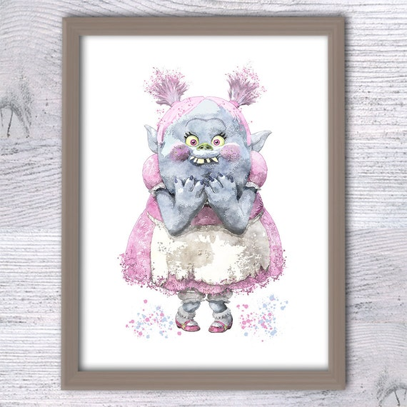 Trolls Bridget Wall Decor